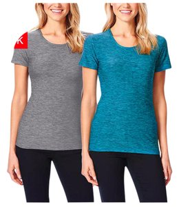 32 Degrees 32 Degrees Ladies' 2-pack Cool Tee