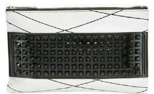L.A.M.B. Jana black and white Clutch