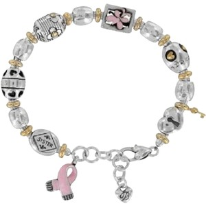 Brighton Brighton Power of Pink Breast Cancer Charm Bracelet