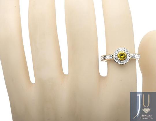Other 0.50ct. Canary Genuine Diamond Engagement Wedding Ring 1.0ct.