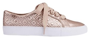 Tory Burch Rose Gold Metallic Athletic