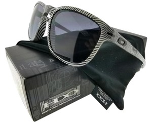 Oakley OO9223-21 Enduro Men's White Fingerprint Frame Grey Lens Sunglasses