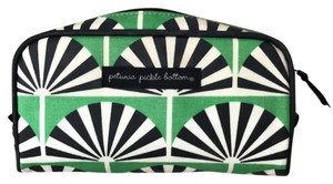 Petunia Pickle Bottom Cosmetic Case Cosmetic Travel Green/Black/White Travel Bag