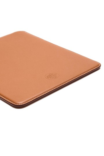 Hermès Hermes Brown Swift Leather iPad Case
