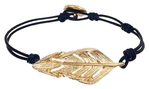 Chloe + Isabel Sculpted Feather Leather Wrap Bracelet