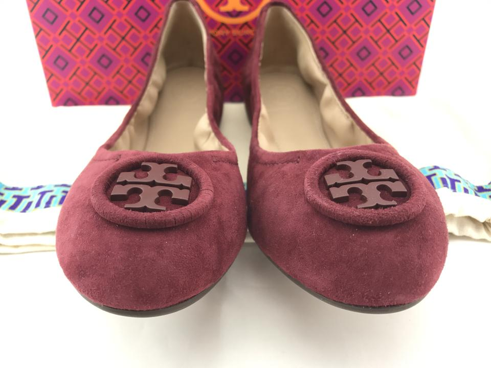 090bfb70dbb0a Tory Burch Burgundy Allie Ballet Flats Size US 7 Regular (M