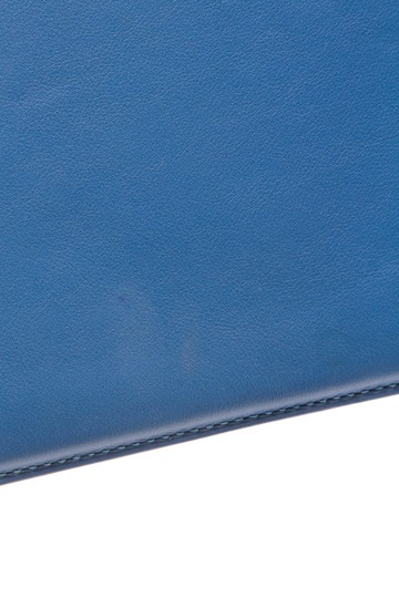 Hermès Hermes Blue Swift Leather iPad Case