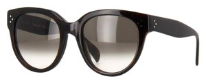 Cline NEW Celine 41755 Audrey Polarized Black Havana Sunglasses