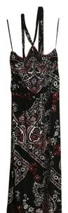 Black red and white Maxi Dress by White House | Black Market
