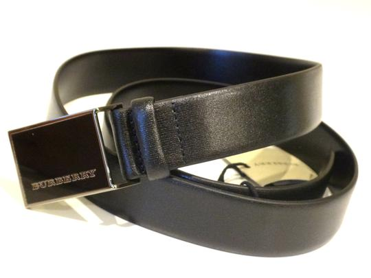 Burberry SALE! Plain Leather MOE 30MM Buckle Belt Size 30/75; Made in Italy