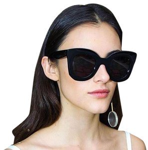 Cline Celine Marta CL 41093/S Sunglasses Black Oversized