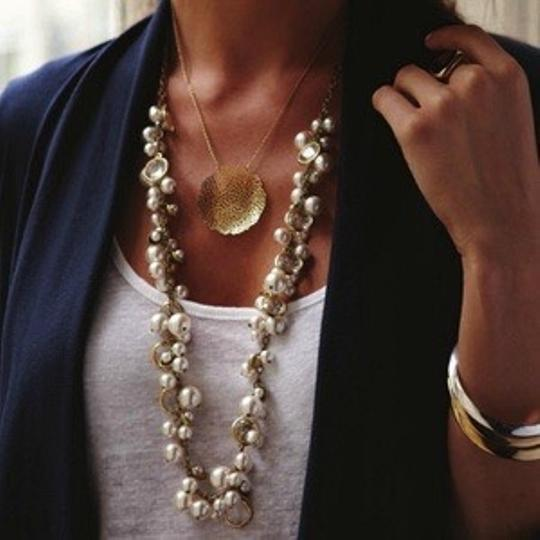 Chloe + Isabel Pearl + Crystal Drop Long Necklace