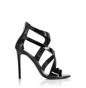 Tamara Mellon Black Sandals