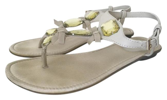 Item - Tan Thong Style Sandals Size US 10 Regular (M, B)