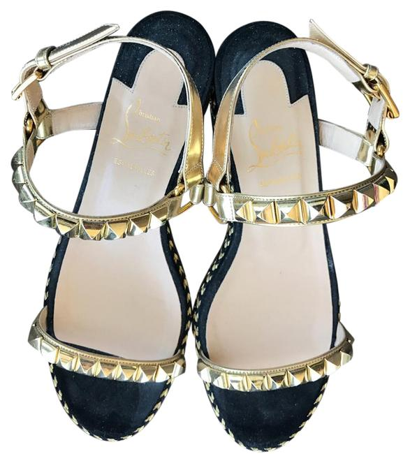 Item - Black with Gold Hardware Cataclou Sandals Size US 8 Narrow (Aa, N)