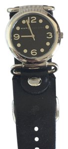 Marc by Marc Jacobs Marc Jacobs black leather watch