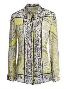 Etro Sale Shirt Top Yellow