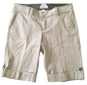 Old Navy Cuff Bermuda Shorts Khaki