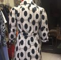 CC Couture Black/Taupe Dotted Design Coat Size 6 (S) CC Couture Black/Taupe Dotted Design Coat Size 6 (S) Image 4