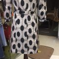 CC Couture Black/Taupe Dotted Design Coat Size 6 (S) CC Couture Black/Taupe Dotted Design Coat Size 6 (S) Image 5