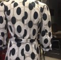 CC Couture Black/Taupe Dotted Design Coat Size 6 (S) CC Couture Black/Taupe Dotted Design Coat Size 6 (S) Image 6