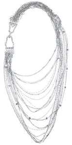 Chloe + Isabel Multi Strand Chain Bib Necklace