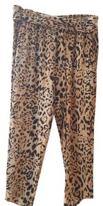 Free People Diesel Allsaits Harem Baggy Pants Cheetah print