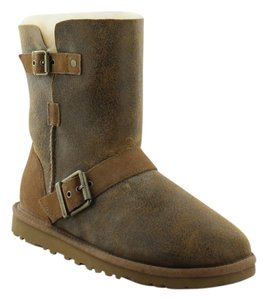 UGG Boots Bomber Jacket Dylyn Classic Chestnut /Brown Boots