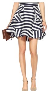 C/meo Collective Mini Skirt Blue/White