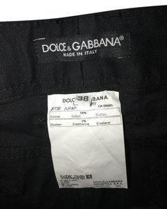 Dolce&Gabbana Capri/Cropped Denim-Dark Rinse
