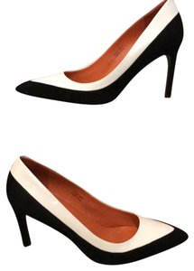 Via Spiga black/white Pumps