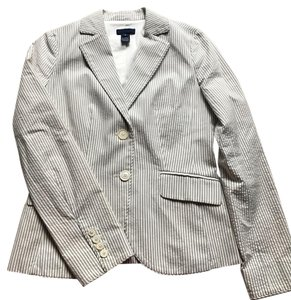 J.Crew grey white Blazer