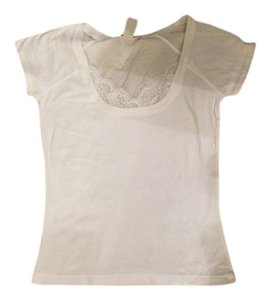 Charlotte Russe T Shirt White