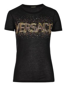 Versace Sale T Shirt Black