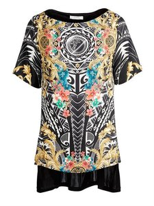 Versace Collection Black Sale Tunic