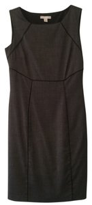 New York & Company Side Zip Sheath Sleeveless Fitted Lined Dress