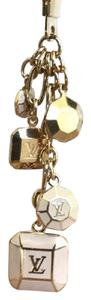 Louis Vuitton Louis Vuitton Gold Porte Cle Cabochon Bag Charm