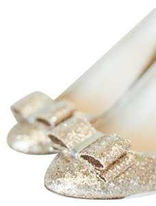 Kate spade wedding shoes on sale up to 90 off at tradesy kate spade gold heels pumps size us 95 regular m b junglespirit Gallery