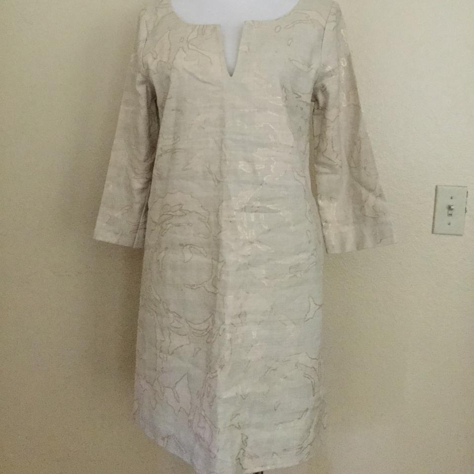 Tunic Khaki Linen Antonia Cocktail J Dress Crew fATv7F