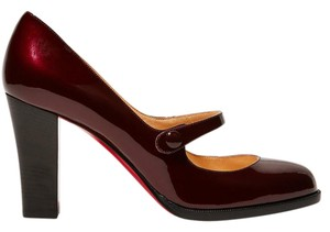Christian Louboutin Patent Leather Mules