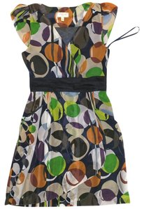 Moulinette Soeurs short dress Multi, pearl, green, peach on Tradesy