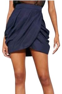 Silence + Noise Mini Skirt Navy