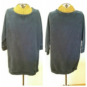 Alternative Apparel Slub Lounge Indigo Sweatshirt