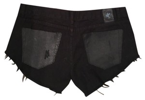 One Teaspoon Cut Off Shorts black