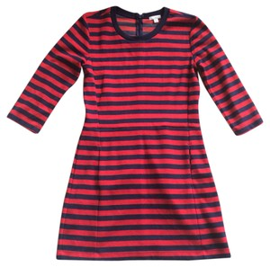 Gap red and blue stripe dress petite small short dress red and navy on Tradesy