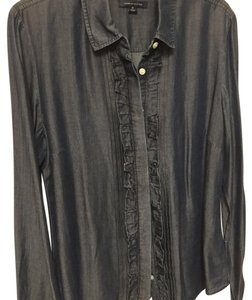 Tommy Hilfiger Chic Professional Button Down Shirt Navy blue