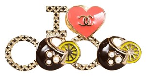 Chanel NEW SOLD OUT 2017 CUBA CRUISE COLLECTION I LOVE COCO PIN