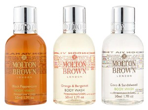 Molton Brown Molton Brown Body Wash Gel Trio Collection Gift Set