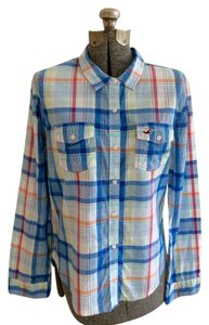 Hollister New Button Down Shirt