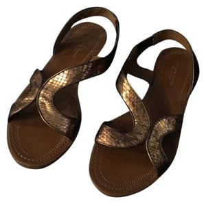 Bottega Veneta copper Sandals